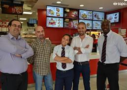 Inauguraçao do KFC do M. Bento-18
