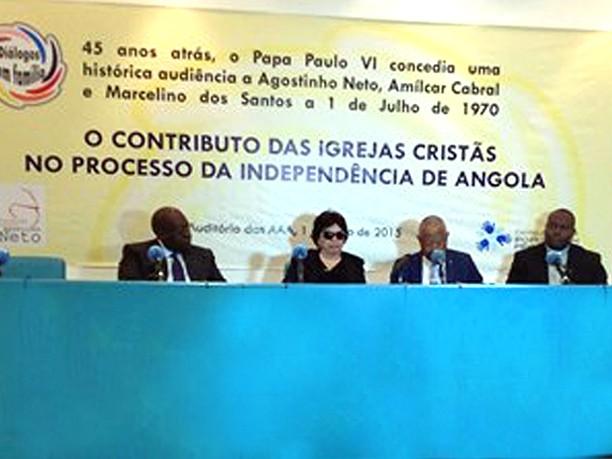 Da audiência de Paulo VI a Agostinho Neto Amílcar Cabral e Marcelino dos Santos