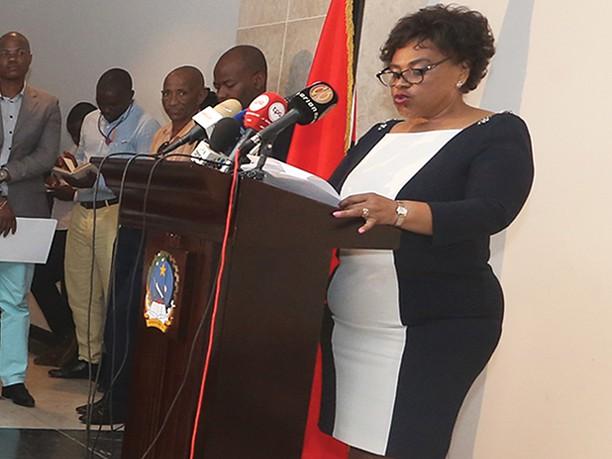 Discurso da Ministra da Cultura na cerimónia de proclamação da Academia angolana de letras