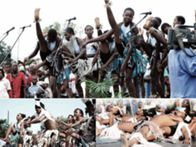 """Xigubo """"dança dos guerreiros"""" património da Humanidade"""