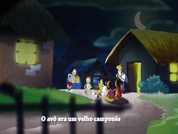 Primeiro filme  animado em línguas nacionais em África