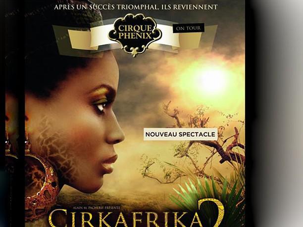 O Circo e a moda celebram  um cheirinho de África