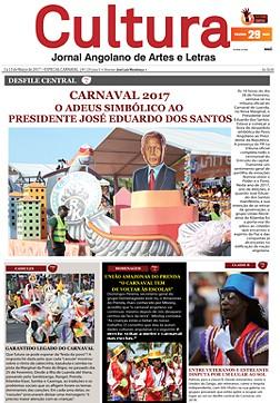 CARNAVAL 2017: O adeus simbólico ao Presidente José Eduardo dos Santos
