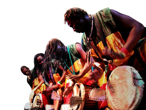 Festival pan-africano de música: Conjunto Nzaji louvado em Brazzaville