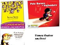 """Para crianças dos 3 aos 6 anos de idade Concurso Internacional """"Vamos ilustrar um livro!"""""""