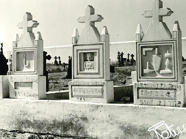 Uma arte funerária rara em África