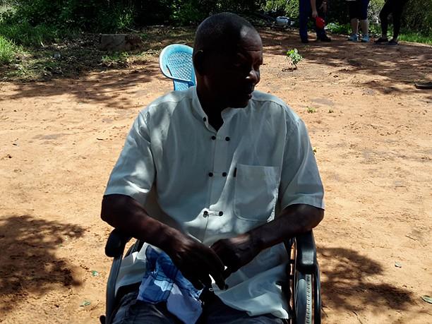 Kitômbwa, um pisteiro abandonado