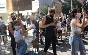 Shawn Mendes e Camila Cabello participam em protesto contra o racismo nos Estados Unidos
