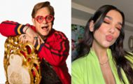"Dua Lipa e Elton John divulgam teaser de ""Cold Heart"""