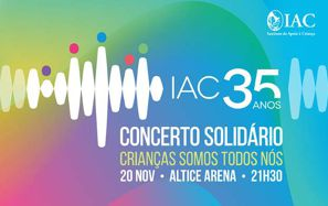 Concerto Solidário na Altice Arena