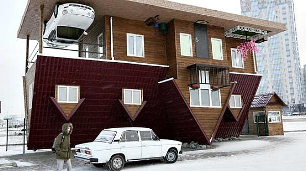 Conhe a as casas mais loucas da china sapo viajar angola - Casa al contrario ...