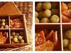 Doces de Cabo Verde numa caixa de jóias