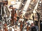 Feira de artesanato na Praça 25 de Junho