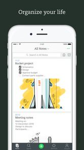 tek Evernote iOS 8.0
