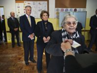 É dia de votar: as fotos deste domingo presidencial