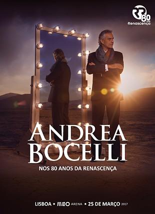 ANDREA BOCELLI NOS 80 ANOS DA RENASCENÇA