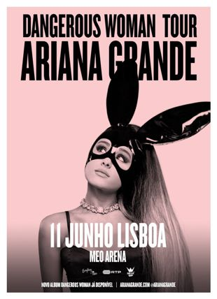 ARIANA GRANDE - DANGEROUS WOMAN TOUR 2017