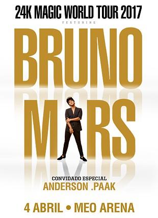 LIVE NATION PRESENTS BRUNO MARS 24K MAGIC TOUR