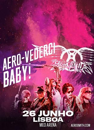 AEROSMITH - European Tour 2017