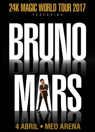 PACK BRUNO MARS 24K MAGIC TOUR