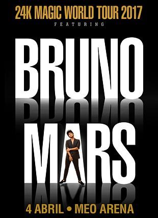 PACK BRUNO MARS 24K MAGIC TOUR