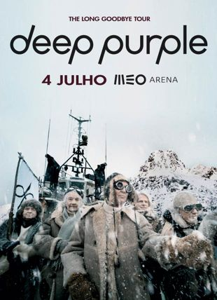 DEEP PURPLE - THE LONG GOODBYE TOUR