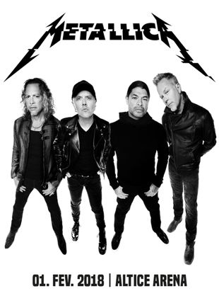 VIP PACKAGES METALLICA WORLDWIRED TOUR 360º