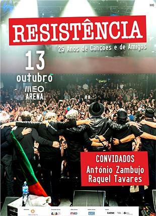 RESISTÊNCIA 25 ANOS E CONVIDADOS