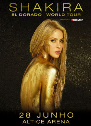 SHAKIRA EL DORADO WORLD TOUR