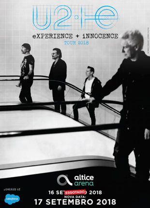 VIP PACKAGES-U2 EXPERIENCE + INNOCENCE TOUR