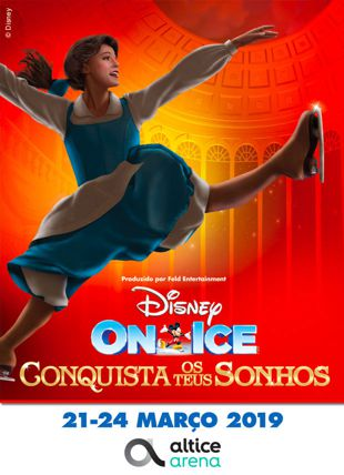 DISNEY ON ICE CONQUISTA OS TEUS SONHOS