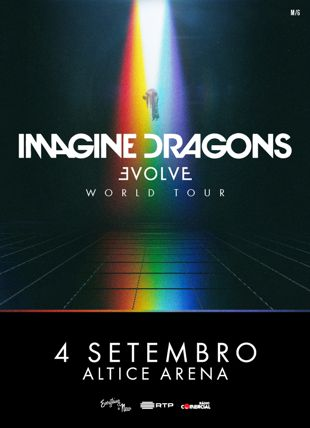 IMAGINE DRAGONS EVOLVE WORLD TOUR