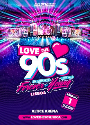 LOVE THE 90'S LISBOA 2018