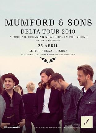 MUMFORD & SONS DELTA TOUR