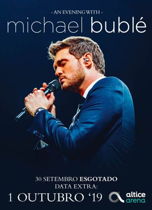 AN EVENING WITH  MICHAEL BUBLÉ