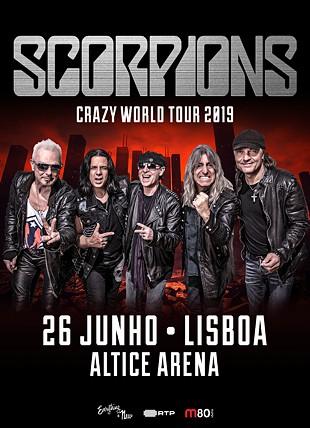 SCORPIONS CRAZY WORLD TOUR 2019