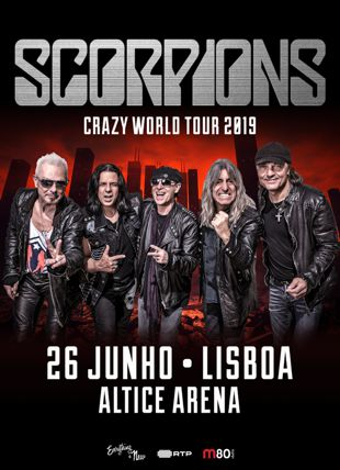 SCORPIONS CRAZY WORLD TOUR 2019