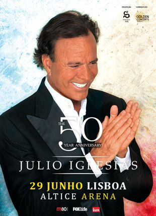 JULIO IGLESIAS - THE 50 YEAR ANNIVERSARY