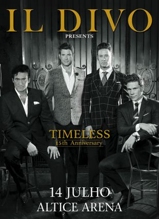 IL DIVO - VIP PACKAGE