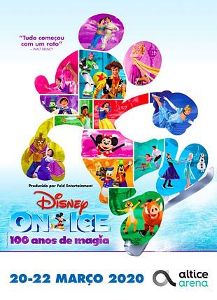 DISNEY ON ICE 100 ANOS DE MAGIA