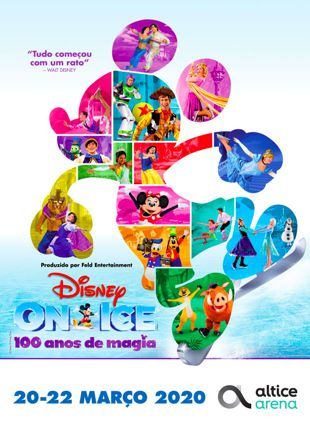 DISNEY ON ICE 100 ANOS DE MAGIA