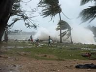 Ciclone tropical devastador atinge Vanuatu