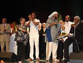 Bana homenageado no Teatro São Luiz