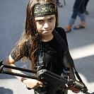 Em Gaza, o apelo às armas começa cedo
