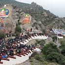 Festival budista no Tibete