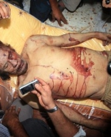 O fim de Kadhafi