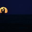Lua romântica