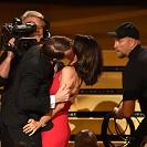 O beijo inesperado dos Emmys