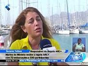 Marina do Mindelo recebe a regata com 72 embarcações