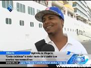 Costa Delicioza, o maior navio de cruzeiro que aportou em Cabo Verde